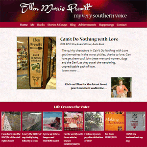 ellen morris prewitt website designed by shelli