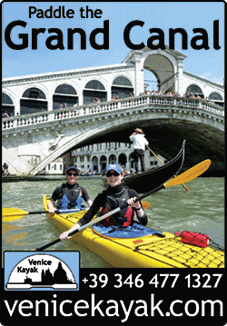 venice kayak magazine display ad designed by shelli